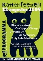 Affiche Kattenfeesten 2009